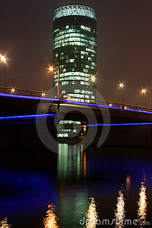 Westhafen Turm Editorial Stock Image