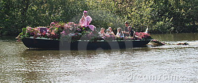 Westland Floating Flower Parade 2011 Editorial Photo