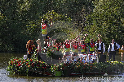 Westland Floating Flower Parade 2011 Editorial Photo