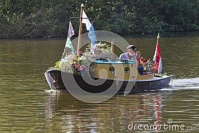 Westland Floating Flower Parade 2011 Editorial Stock Photo