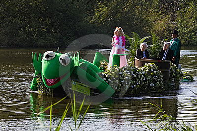 Westland Floating Flower Parade 2011 Editorial Photography