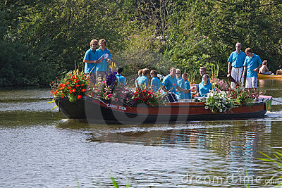 Westland Floating Flower Parade 2011 Editorial Image