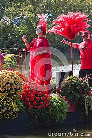 Free Westland Floating Flower Parade 2011 Royalty Free Stock Photo - 22011445