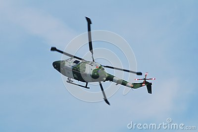 Westland Lynx AH.7 helicopter Editorial Image