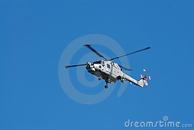 Westland Lynx in flight Editorial Photography