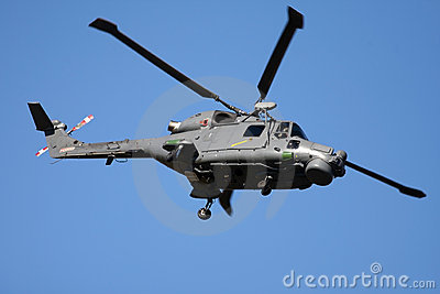 Westland Lynx helicopter