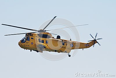 Westland Sea King HAR3 helicopter Editorial Photography