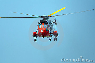 Westland WS-61 Sea King HAR5 helicopter