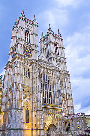 The Westminster Abbey church
