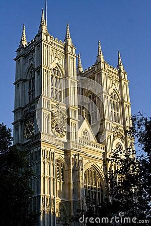 Westminster Abbey facade
