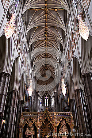 Free Westminster Abbey Interior Gothic Details Stock Photo - 46886880