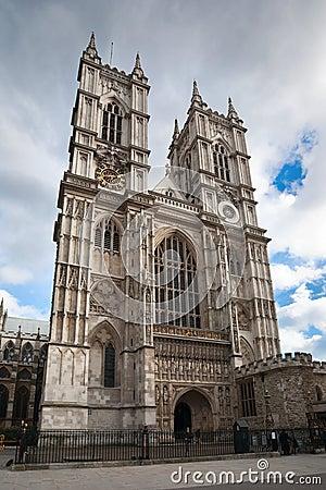 Westminster Abbey in London, England, UK.