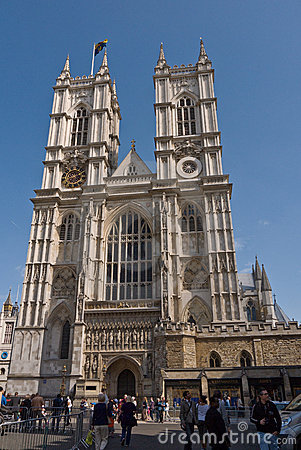 Westminster Abbey venue for the Royal Wedding Editorial Image