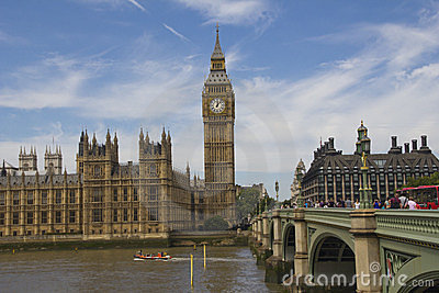 Westminster and Big Ben Editorial Image
