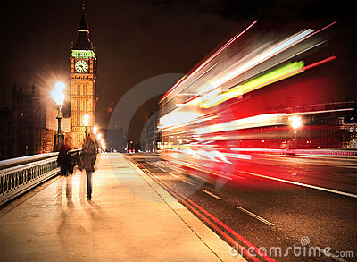 Westminster Bridge in London