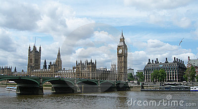 Westminster bridge in London UK
