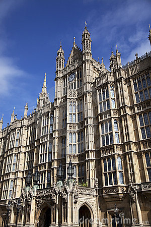 Westminster, Häuser des Parlaments in London