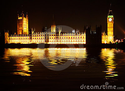 Westminster - houses of parliament