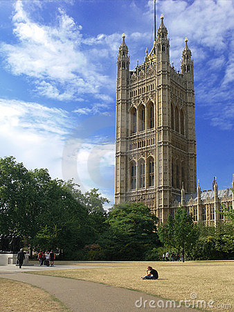 Westminster - The Houses of Parliament in London