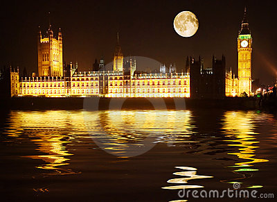 Westminster - maisons du parlement