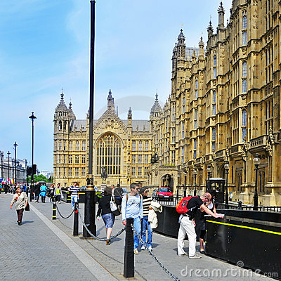 Westminster Palace, London, United Kingdom Editorial Stock Photo