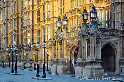 Westminster: perspectiva do parlamento, Londres
