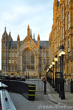 Westminster: perspective of Parliament, London