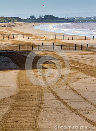 Free Weston-super-Mare Beach Somerset Royalty Free Stock Photography - 26597047