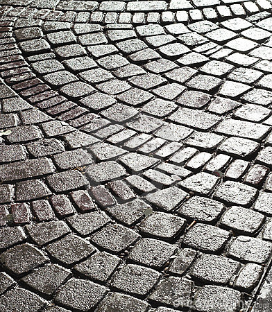 Free Wet Cobble Stone Stock Images - 2141984