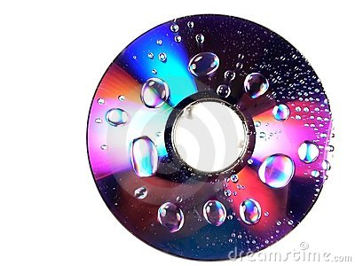 Wet DVD Rainbow