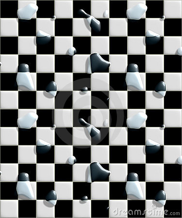 . Black And White Floor Tiles Stock Images   Image  28480294