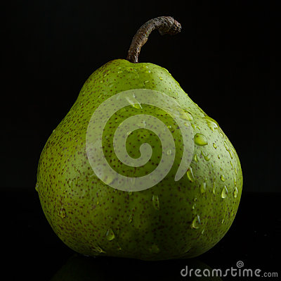 Wet pear