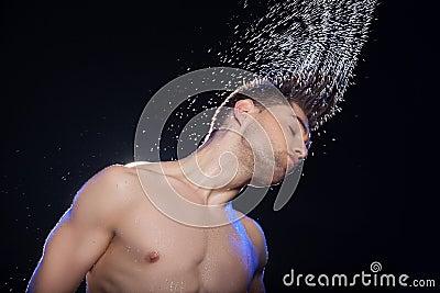 Wet men.