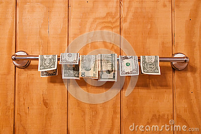 Wet money drying