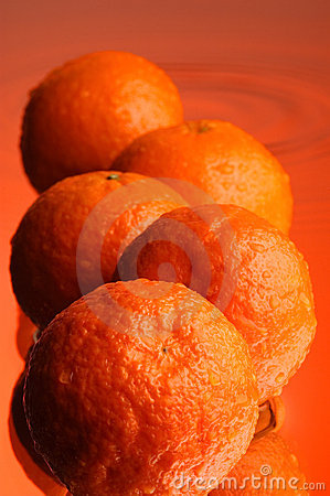 Wet orange #2