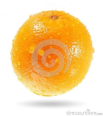 simulated orange perspiration
