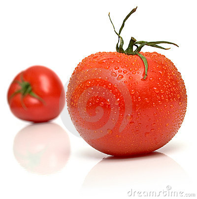 Free Wet Perfect Tomato Royalty Free Stock Photo - 4742185