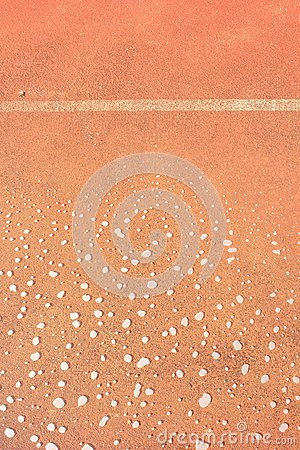Wet run track