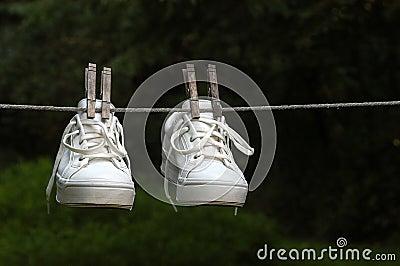 Wet Sneakers