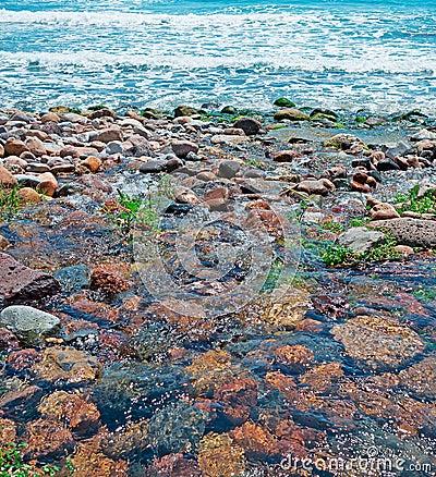 Wet stones