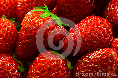 Wet Strawberries