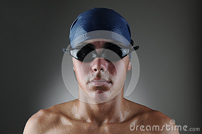 Wet Swimmer Portrait