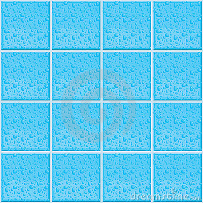 Wet Tile Pattern
