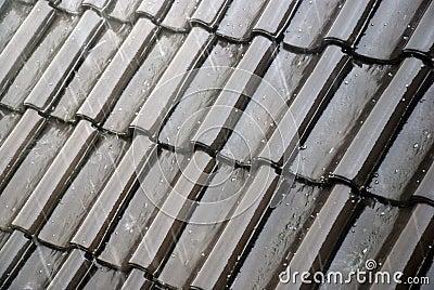 Wet tiles