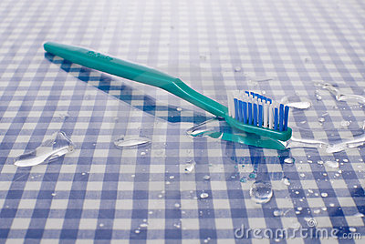Wet Toothbrush