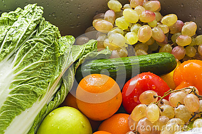 Wet vegetable