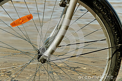 Wet wheel.
