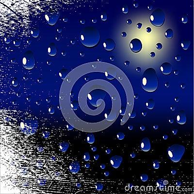 Wet window.