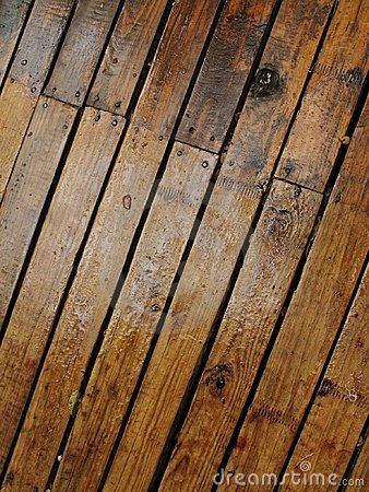 Wet wood planks - 2