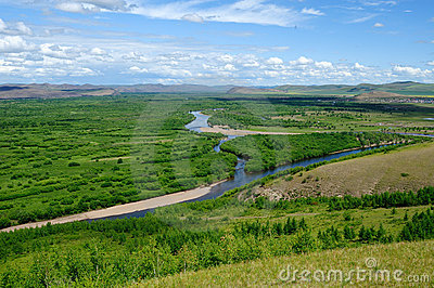 Wetlands in Inner Mongolia